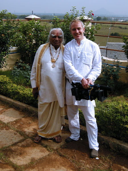 BKS Iyengar with Jake Clennell